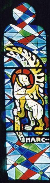 Vitrail de saint Marc